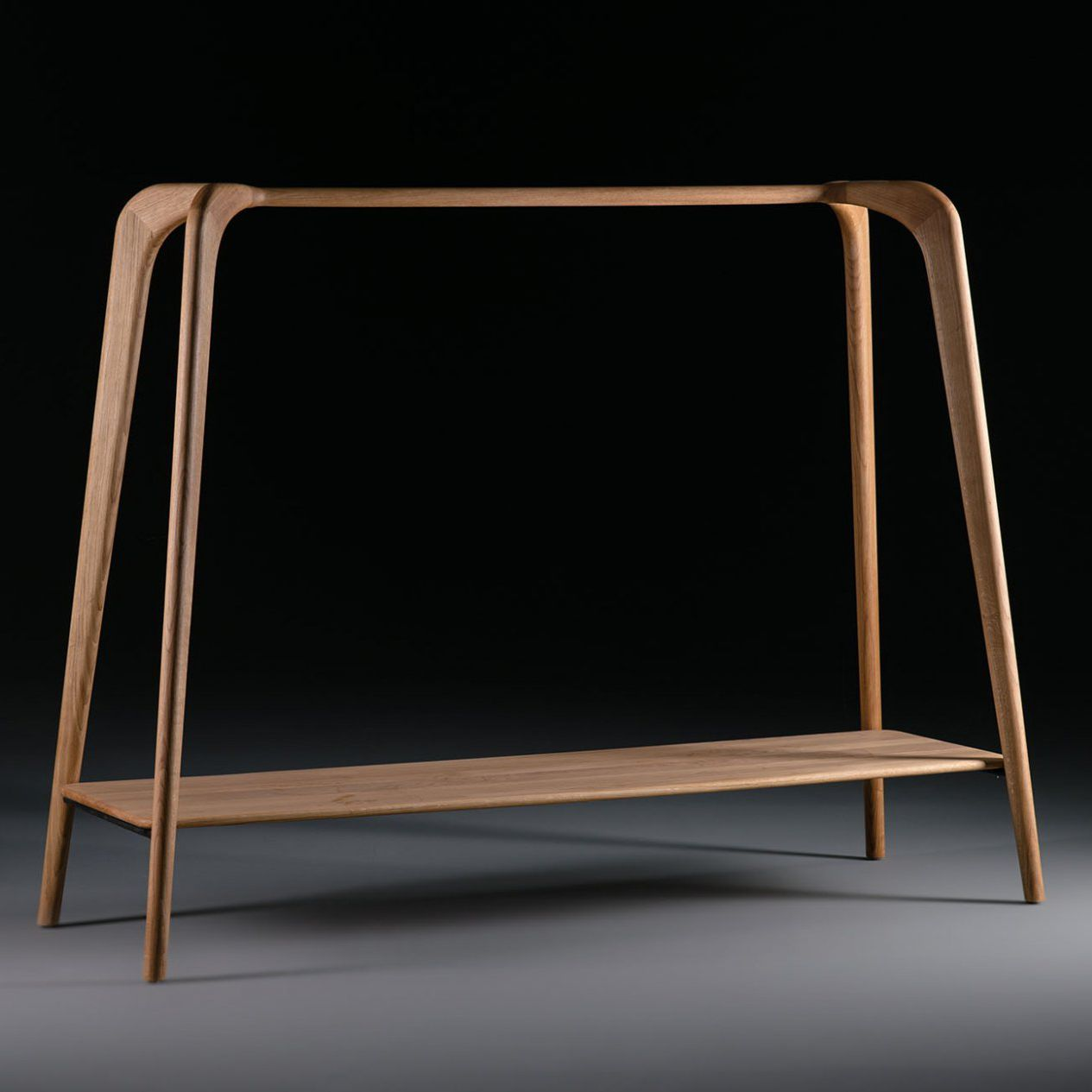Artisan Solid Wood Furniture Moderne Garderobenstange   Holz   SWING by  Edvar design. Moderne Garderobenstange   Holz   SWING by Edvar design   Artisan