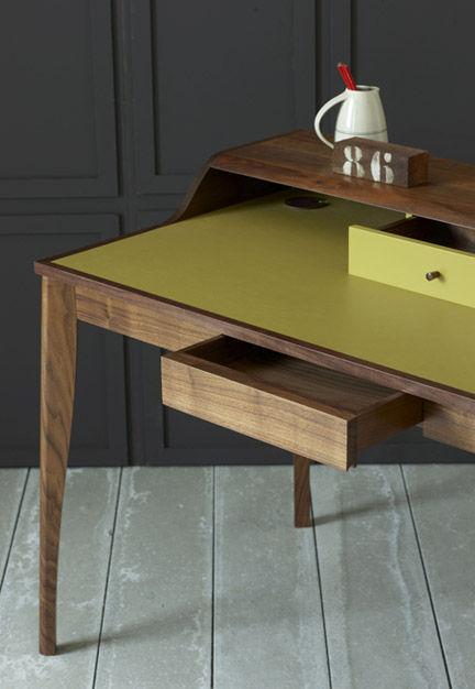 Schreibtisch holz modern  Holz-Schreibtisch / modern - YVES - PINCH