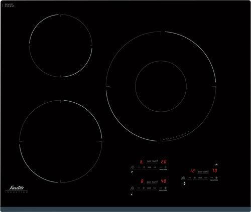 Elektrisches Kochfeld Glaskeramik Induktion Sti864b Sauter