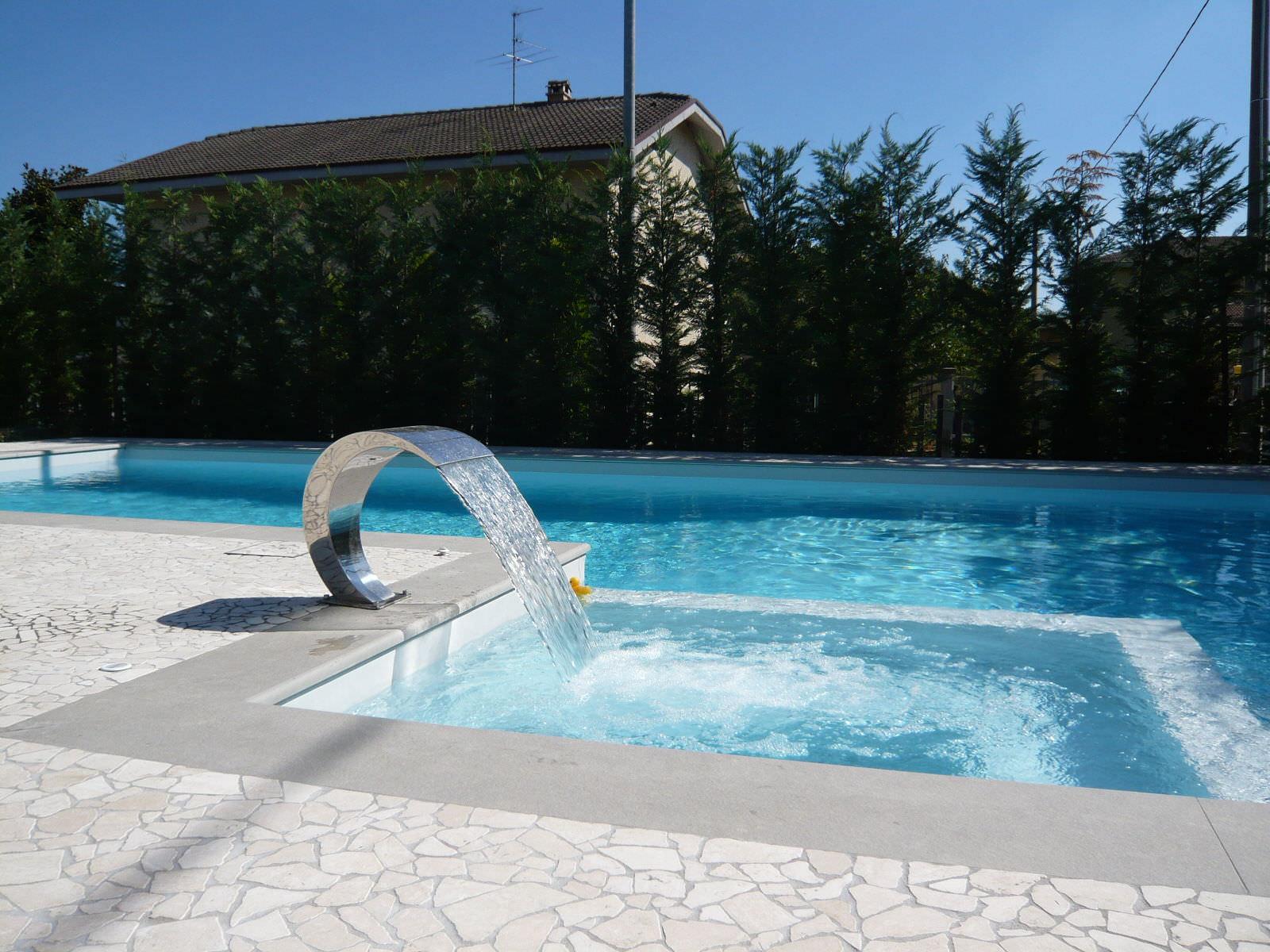 Pool Springbrunnen - EDILFARE PISCINE