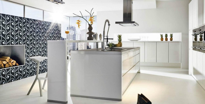 Moderne küche / laminat / kochinsel / lackiert   775 avior   wellmann