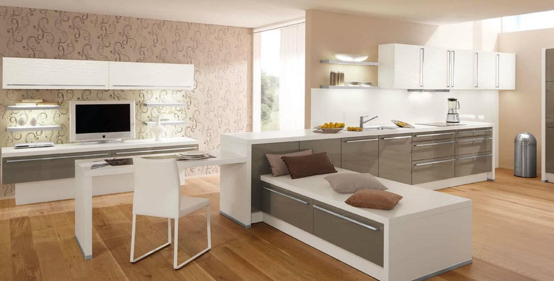 Moderne Küche / Laminat / lackiert / Hochglanz - 314 CALLA - Wellmann