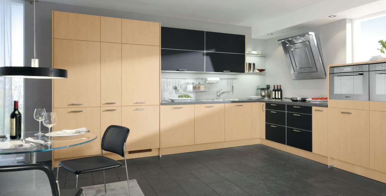 Moderne Küche / Laminat / mit Griffen - 107 ALVA - Wellmann
