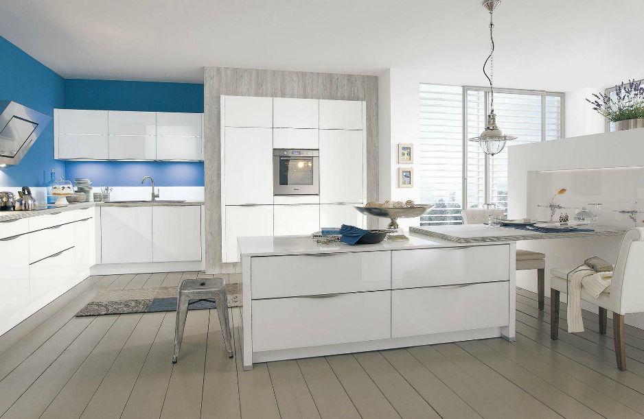 Moderne Küche / Holz / Lackiert / Hochglanz - 888 Vitus - Wellmann