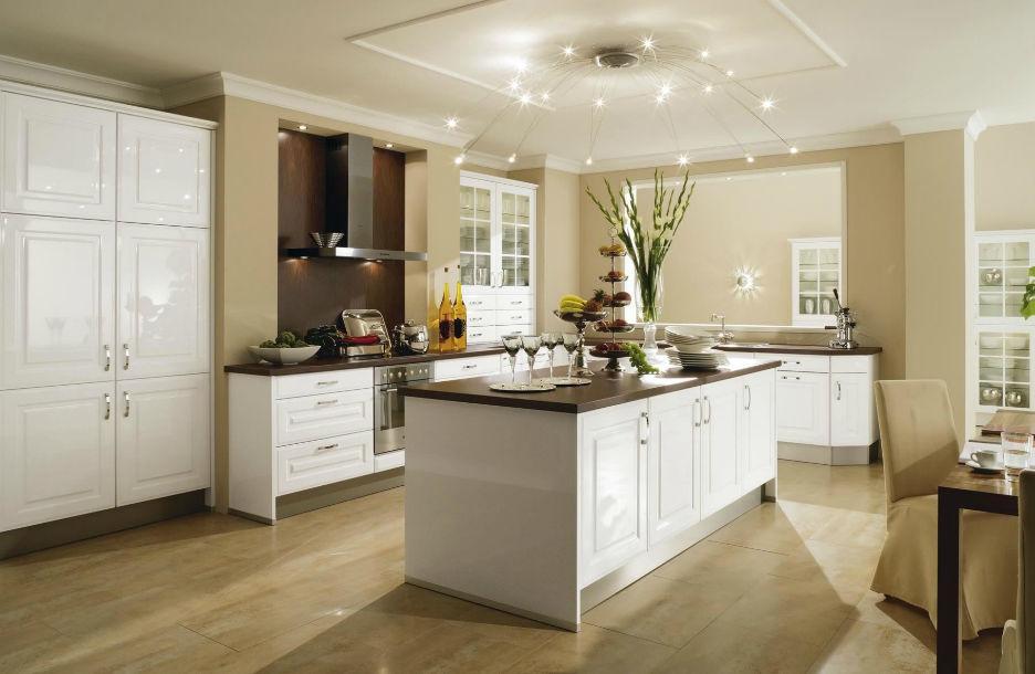 Wellmann küchen fronten preise  Moderne Küche / Laminat / lackiert - 528 POLARIS - Wellmann