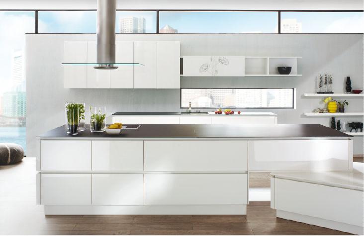 Ballerina küchen preise  Moderne Küche / Holz / Kochinsel / lackiert - GL 3450 - Ballerina ...