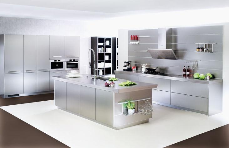 Moderne Küche / Metall / Kochinsel - XL 4054 - Ballerina - Küchen ...