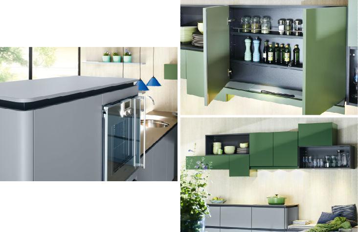 Moderne Küche / Holz / lackiert / matt - GL 3299 - Ballerina ...