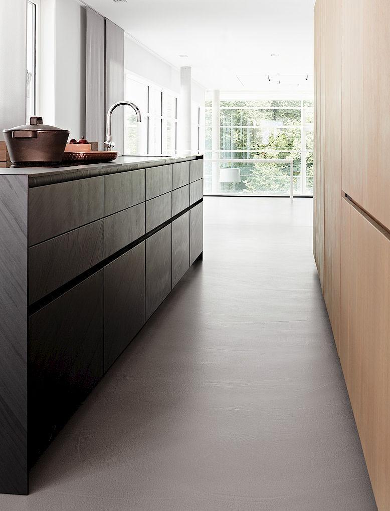 lagerschrank für küchen / aus eiche - penthouse hamburg ... - Eggersmann Küche