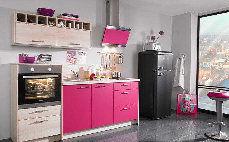 Küche Pink | Moderne Kuche Holz Kochinsel Lackiert Plan Express