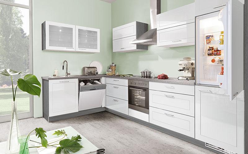Moderne Küche / Holzfurnier / lackiertes Holz / Kochinsel - ROYAL ...