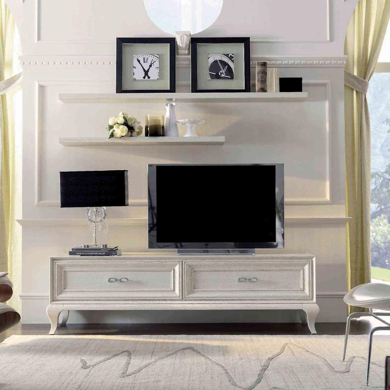 Klassisches Fernsehmöbel Lackiertes Holz 9007 F1 Mozzo Giorgio