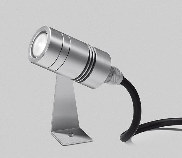 Ordentlich Strahler für Aufbau / Garten / LED / rund - MINISPOT - Artemide OZ19