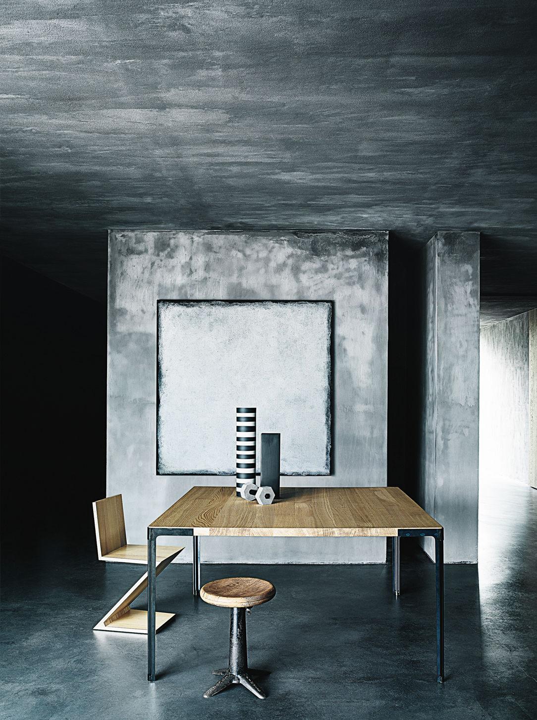 ... Moderner Tisch / Holz / Stahl / Keramik FAN DESALTO Spa ...