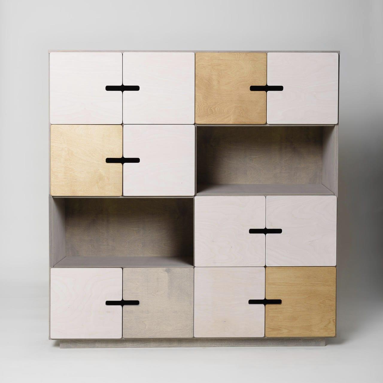 Hohes Sideboard / modern / aus Sperrholz / aus Birke - PIX by Raul ...