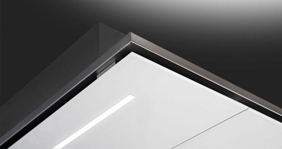 Inseldunstabzug mit integrierter beleuchtung slt 960 by fabrizio