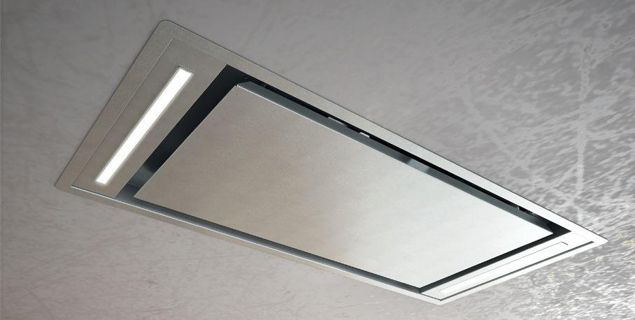 Deckenmontierter dunstabzug mit integrierter beleuchtung slt 958