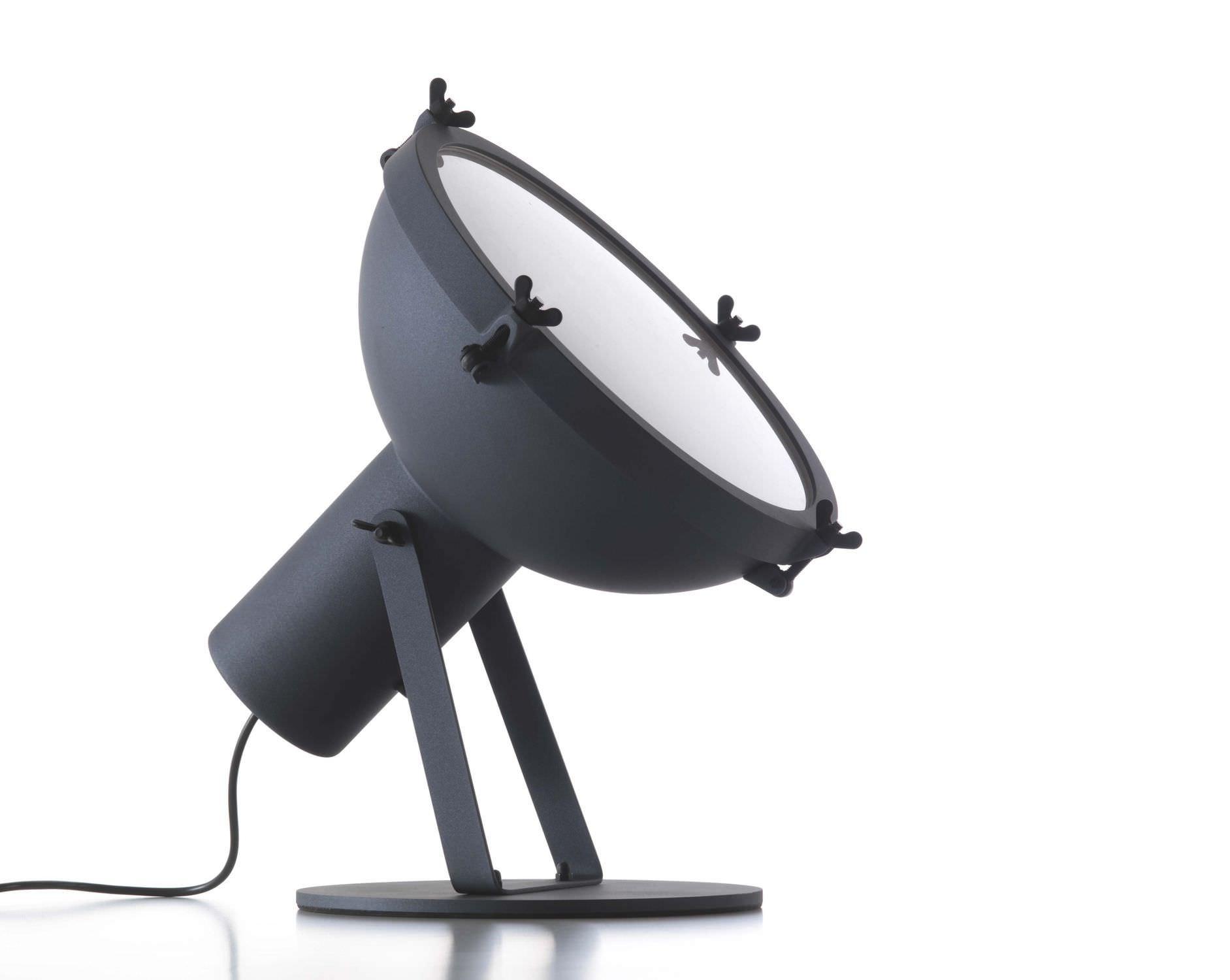 Bodenlampe / originelles Design / Aluminium / Glas - PROJECTEUR 365 ...