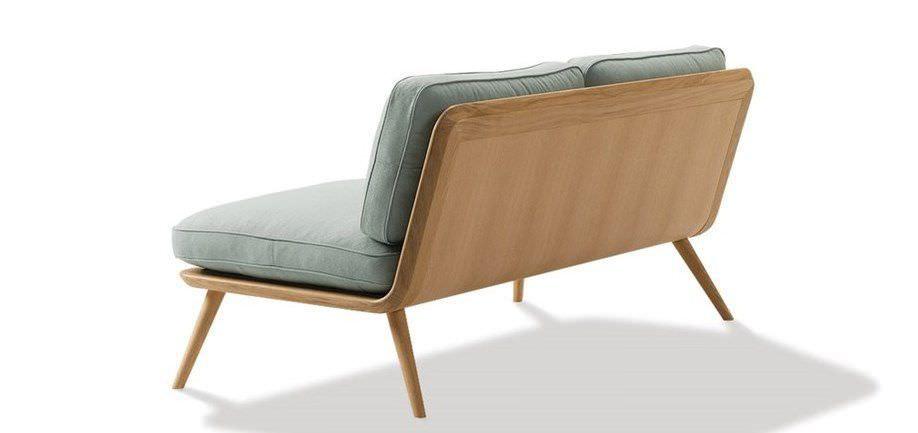 Sofa Skandinavisches Design Leder Von Jasper Morrison 2 Platze