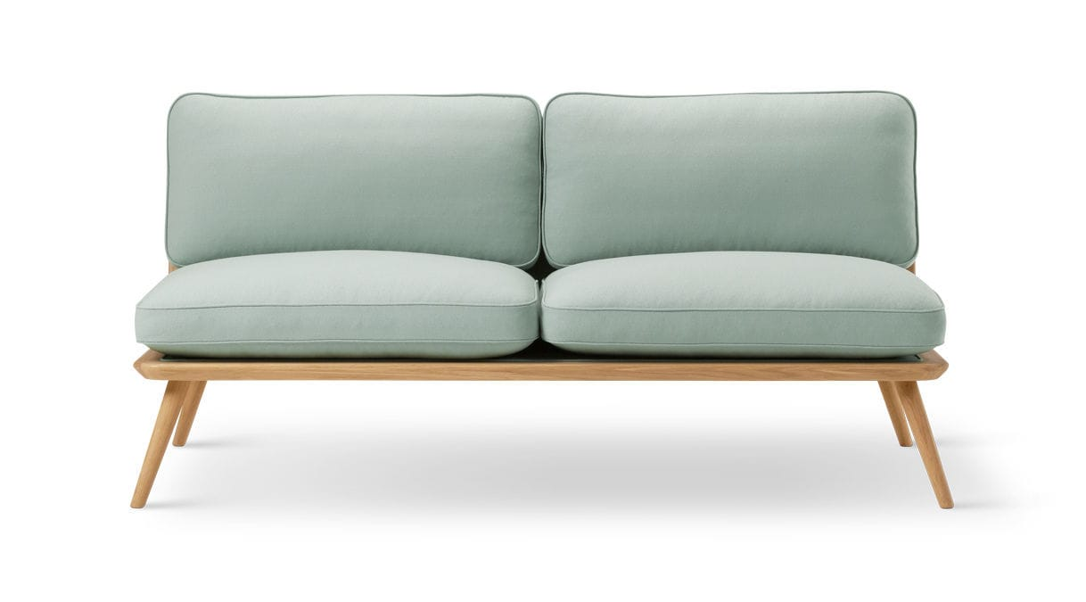 GroBartig Sofa / Skandinavisches Design / Leder / Von Jasper Morrison / 2 Plätze ...
