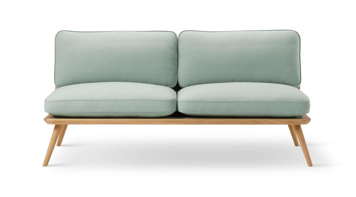 Sofa / Skandinavisches Design / Leder / Von Jasper Morrison / 2 Plätze ...