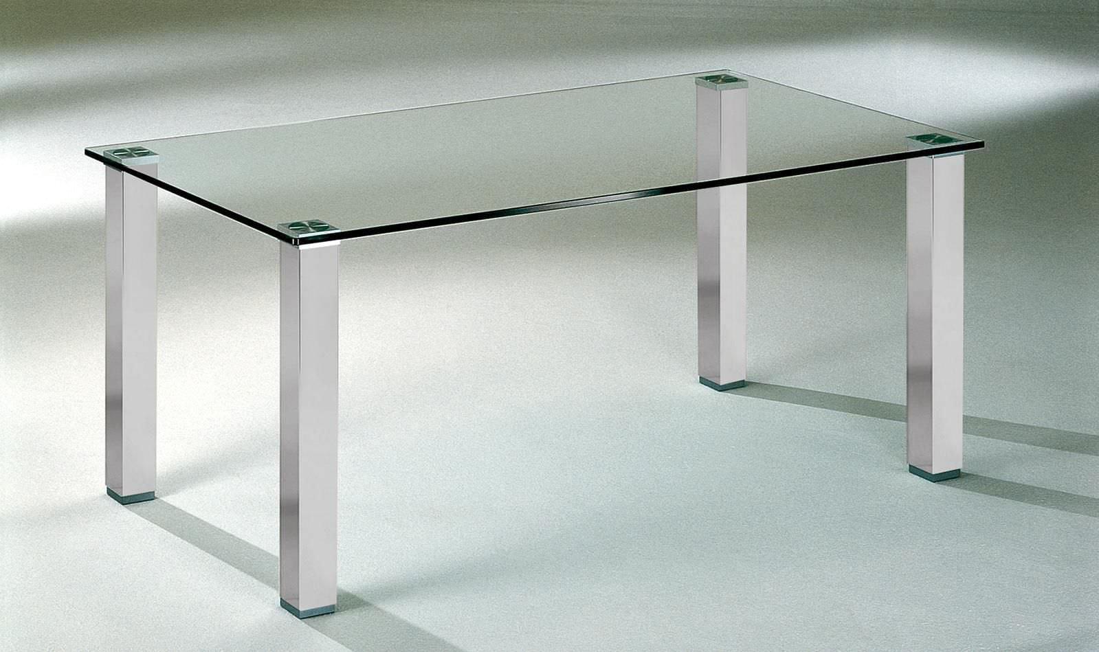 esstisch glas metall