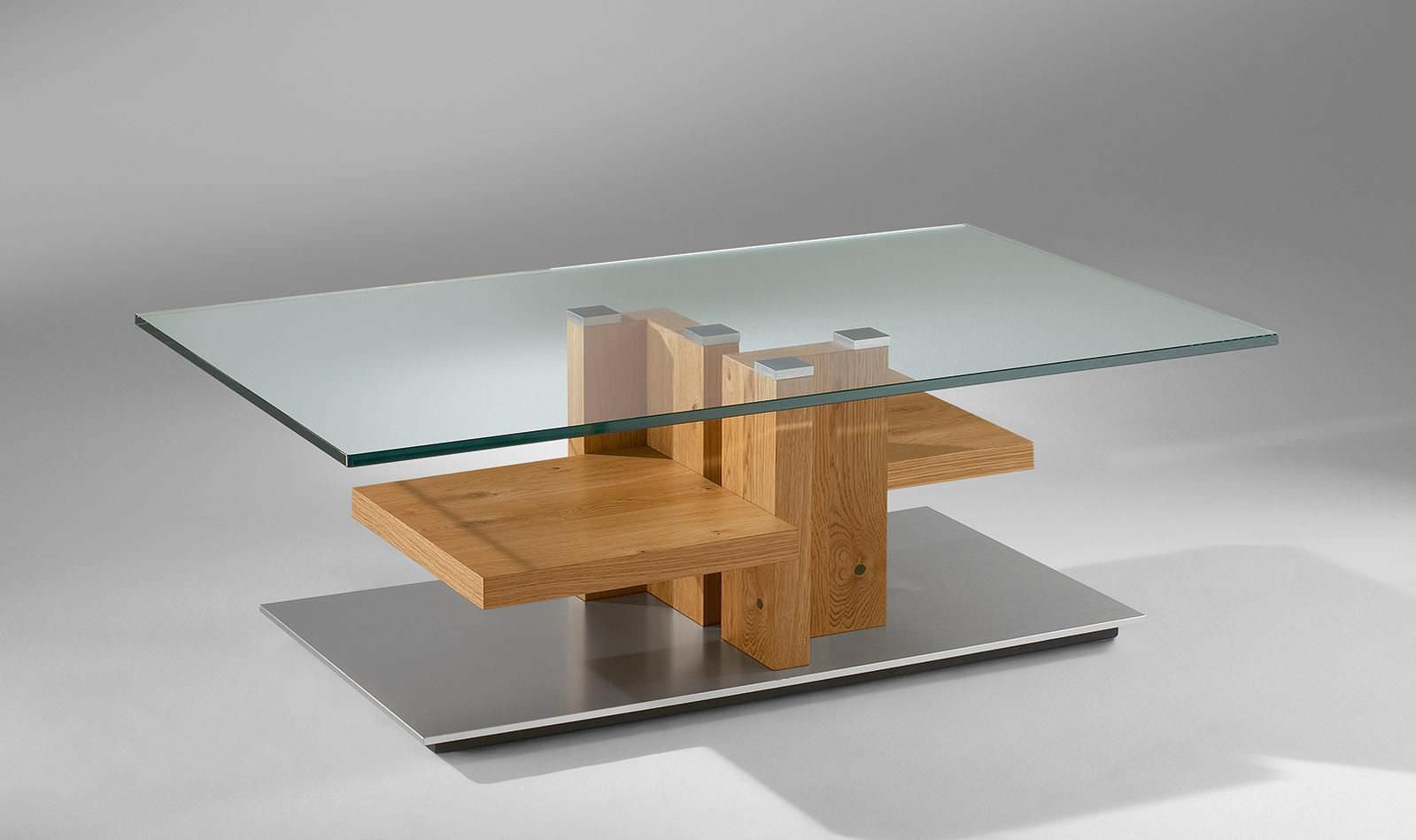 Couchtisch Modern Glas Holz 4424 Alfons Venjakob Gmbh