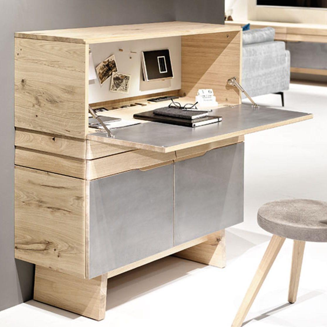 Schreibtisch Stauraum schreibtisch aus eiche / modern / integrierter stauraum - v-organo