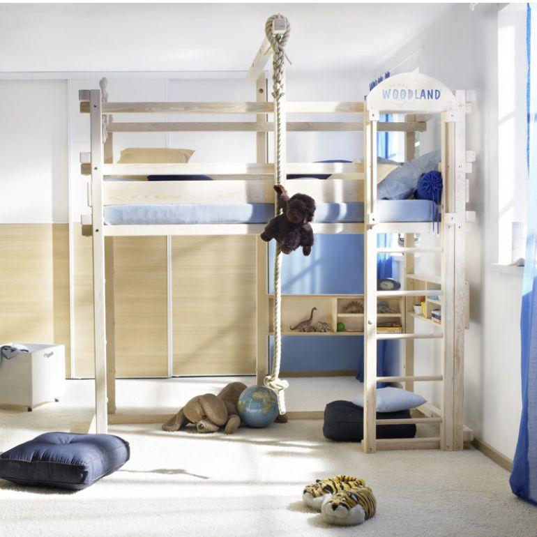 Hochbett / Einfach / Modern / Für Kinder (Jungen Und Mächen)   WINNIPEG