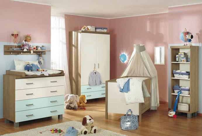 Weisses Kinderzimmer Baby Leo Paidi