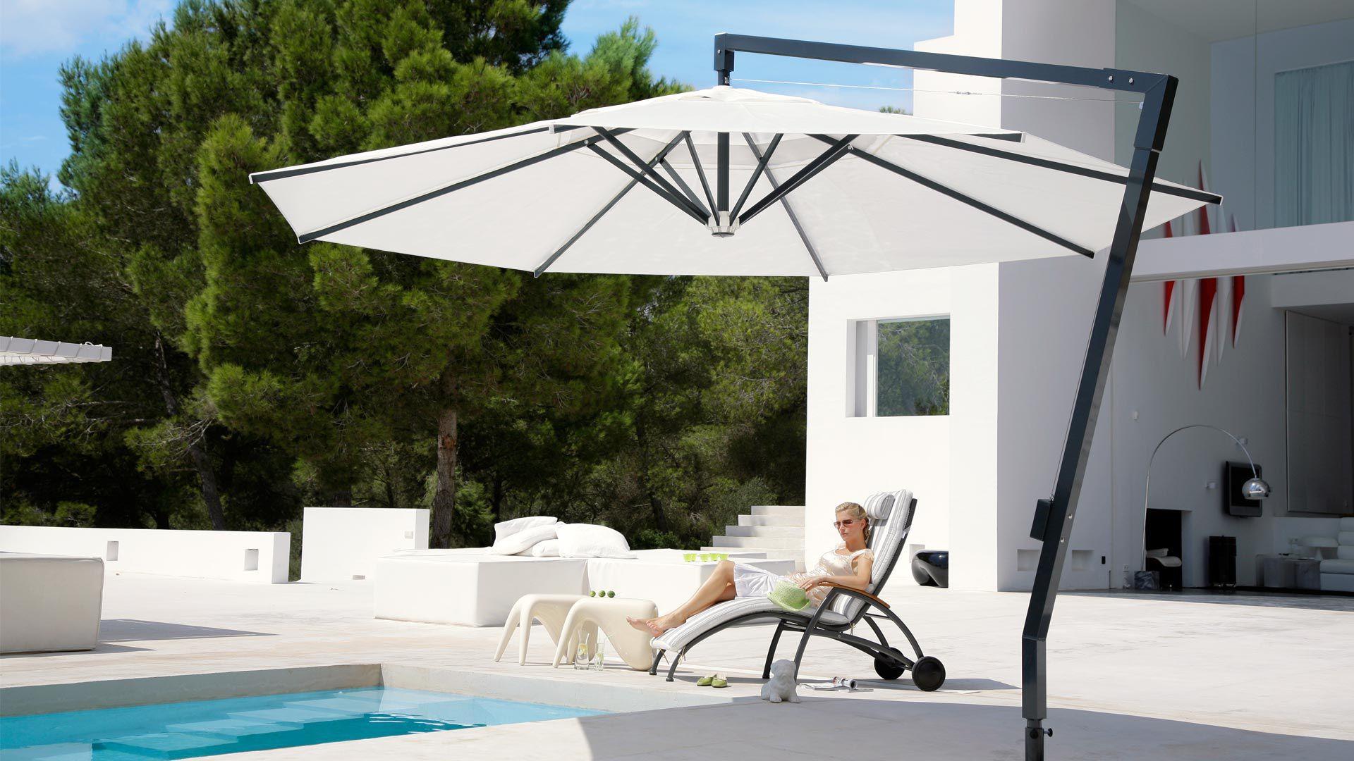 Abgesetzter Sonnenschirm Objektmobel Fur Hotels Fur Bar