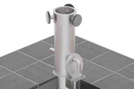 Caravita Sonnensegel mast für sonnensegel aus aluminium caravita