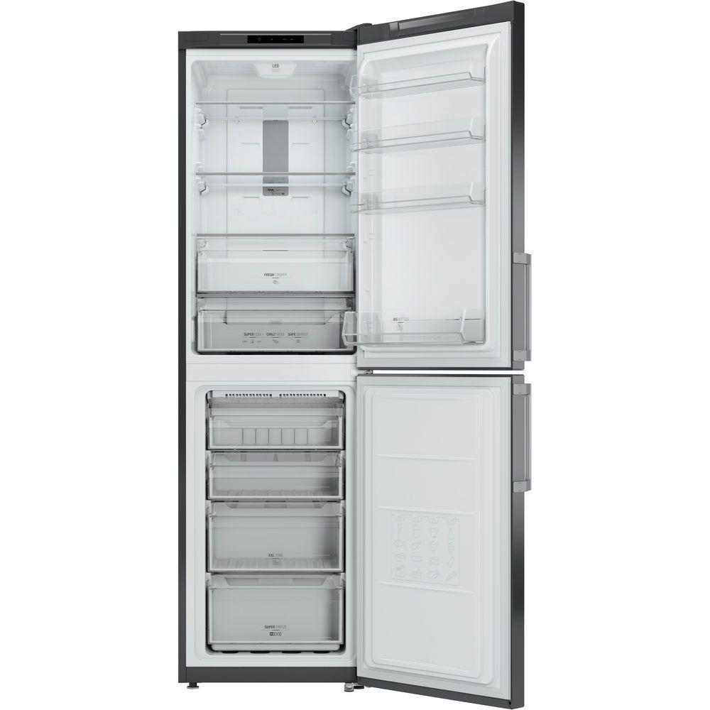 Doppeltüren-Kühlschrank / grau / Öko - XECO95 T2I GH - Hotpoint - Videos