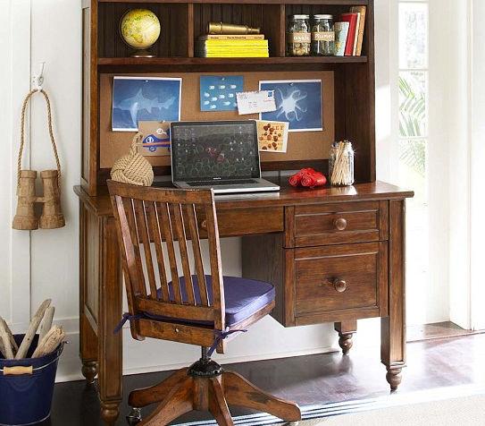 Holz Schreibtisch Modern Mit Regal Fur Kinder Thomas