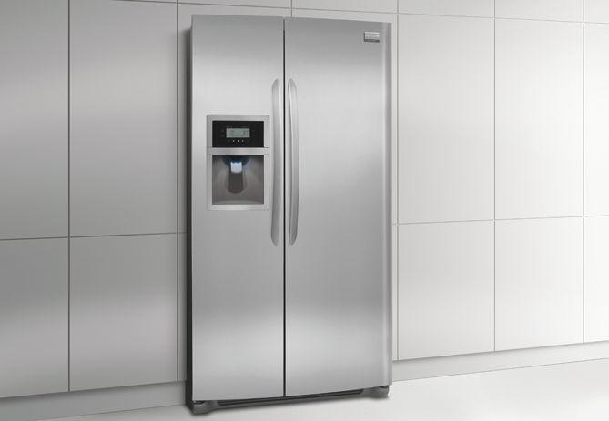 Kühlschrank Amerikanisch : Amerikanisch kühlschrank edelstahl Öko einbau fghc lf