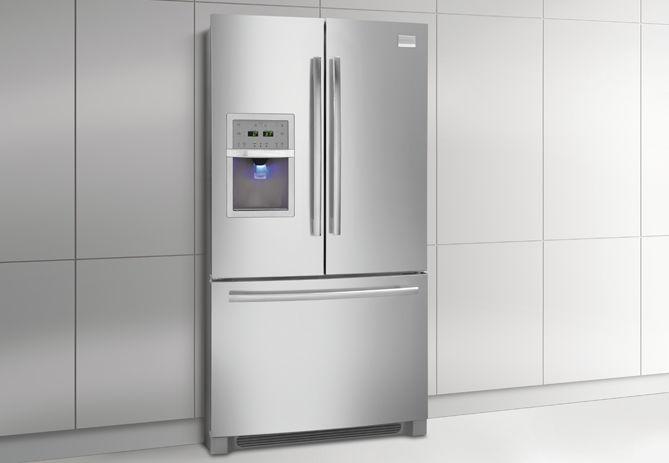 Kühlschrank French Door : Amerikanisch kühlschrank edelstahl Öko energy star