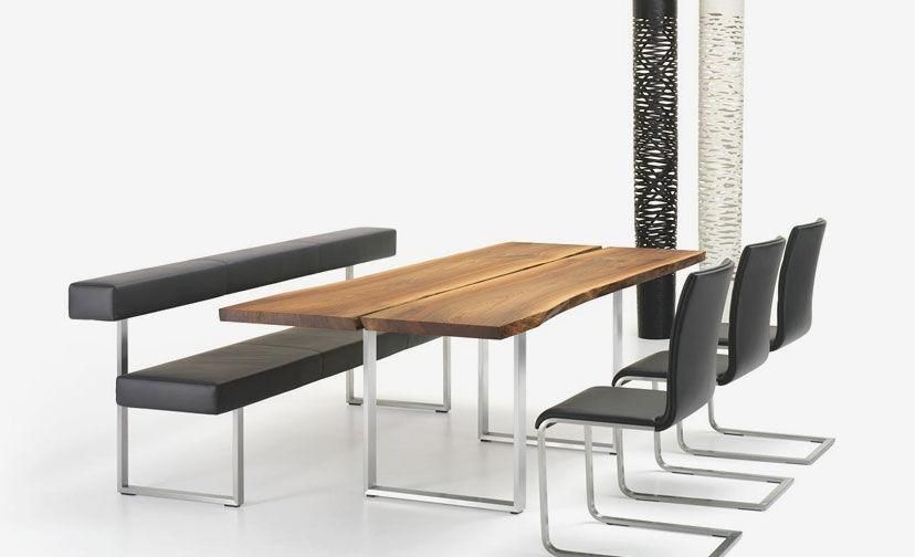 Moderner Esstisch / Holz / Metall / Rechteckig AUTHENTIC By Stefan  Westmeyer Girsberger ...