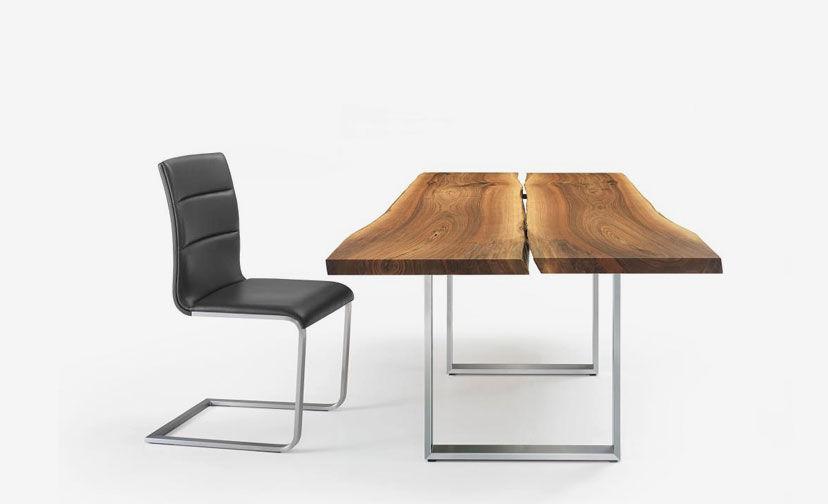... Moderner Esstisch / Holz / Metall / Rechteckig AUTHENTIC By Stefan  Westmeyer Girsberger ...