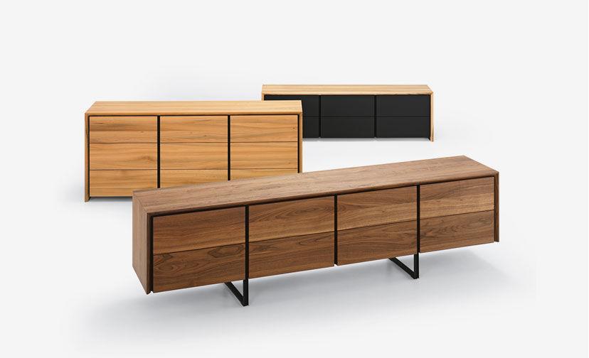 Sideboard holz  Modernes Sideboard / Holz - ENNA by Stefan Westmeyer - girsberger
