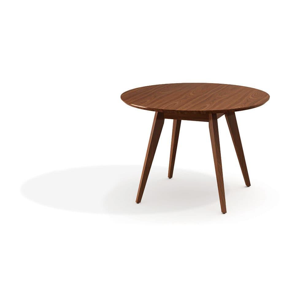 Tisch / Skandinavisches Design / Nussbaum / Aus Ahorn / Aus Laubholz   By  Jens Risom