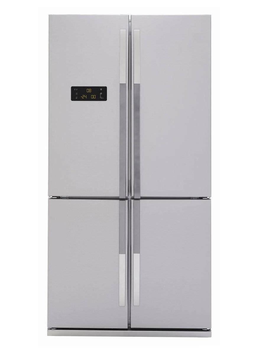 Amerikanisch-Kühlschrank / Edelstahl - GNE114610AP - Beko - Videos