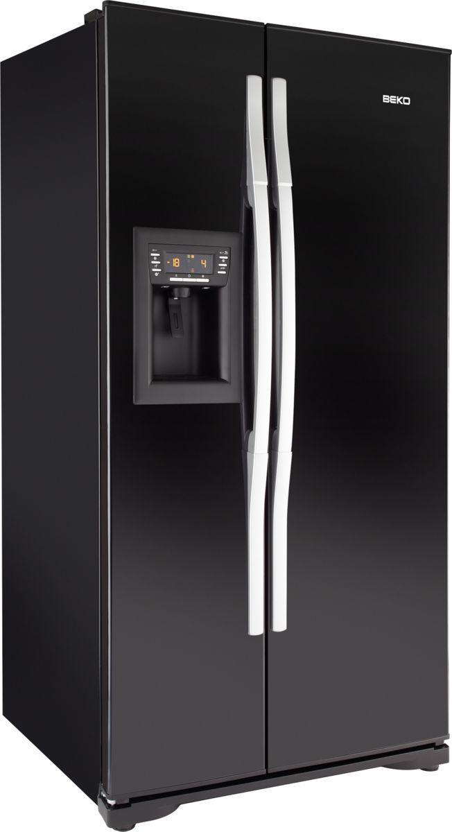 Amerikanisch-Kühlschrank / schwarz - GL32AP - Beko - Videos