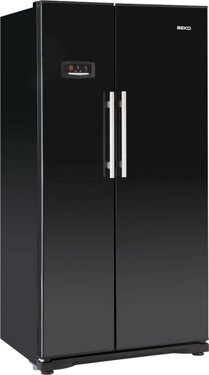 Amerikanisch-Kühlschrank / weiß - GNEV120AP - Beko - Videos