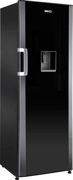 Schrank Kühlschrank / Schwarz / Mit Wasserspender   LXD6145