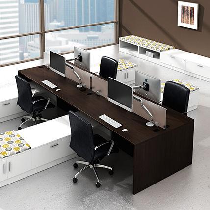 Schreibtisch Fur Open Space Laminat Modern Objektmobel