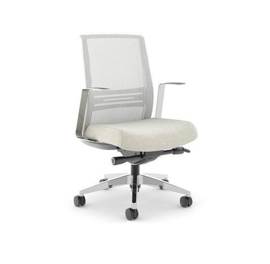 moderner sessel für büro / stoff / drehbar / mit rollen - joya, Hause deko