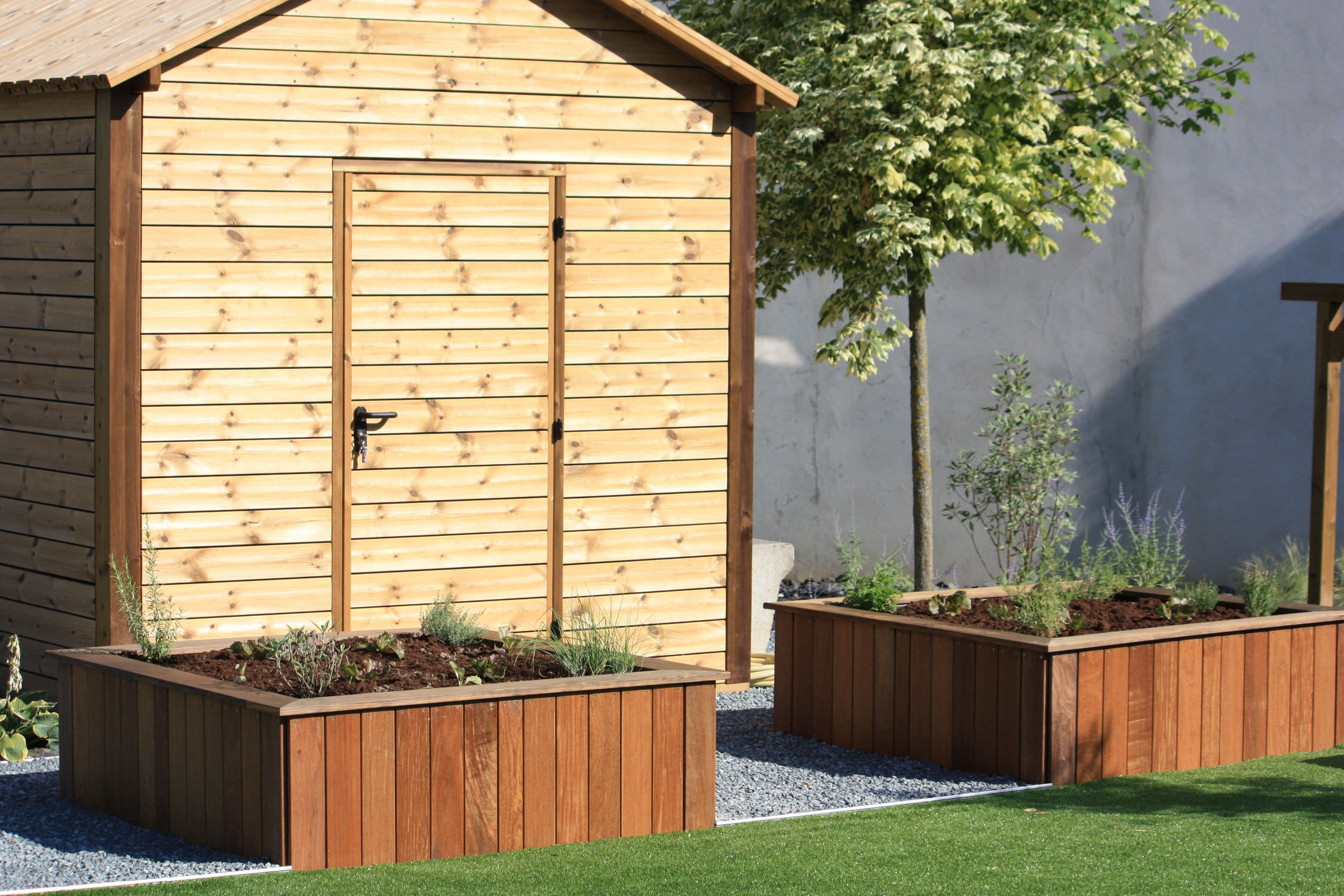 Holz-Gartenhaus - ABRIS DE JARDIN - Groupe grad