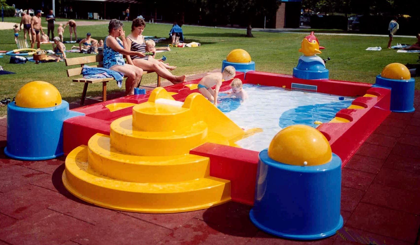 Erdverlegtes Schwimmbecken / Polyester / Für Kinder / Außenbereich ...