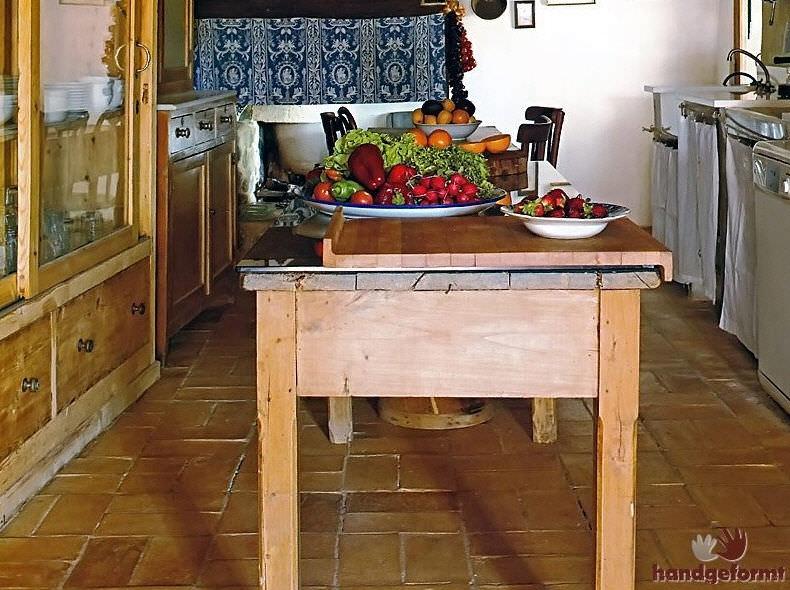 Innenraum-Fliesen / Küchen / für Böden / aus Terrakotta - ART ...