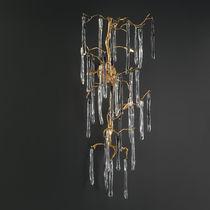 Klassische Wandleuchte / Glas / aus Bronze / Halogen